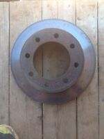 2001 Ford F250 front rotor  good shape comes with pads $50obo