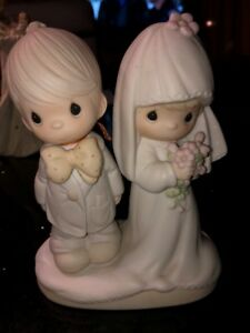 "Precious Moments Figurine ""The Lord Bless You"""
