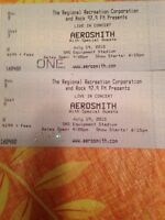 Premium Aerosmith tickets!