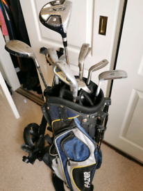 Golf bag caddy wheels clubs NEED GONE REDUCED PRICE BARGAIN DEAL