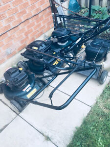 Lawnmowers I have few good working condition