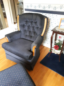 Used chair and stool