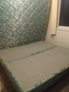 Selli g a King size bed.  Asking $175 . O. B. O