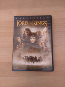 DVD seigneur anneaux lord rings fellowship of the ring