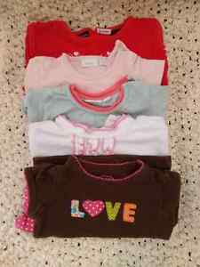 Winter and spring clothing for baby girl 6-12 months