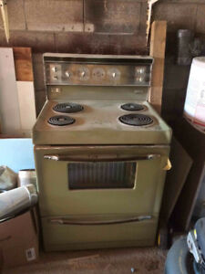 Old Style Electric Stove