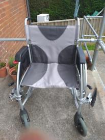 Drive ultra lightweight self propelled wheelchair