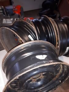 4 17 inch steel rims 5x114.3