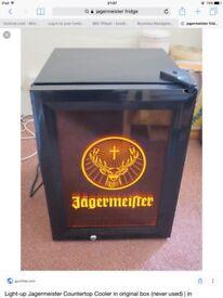 Jagermister mini freezer. Can deliver