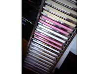 Stainless Steel Bakery Rack & FULL set (20) of 1/1 Gastronorm Clear Polycarb Trays 65mm + Lids
