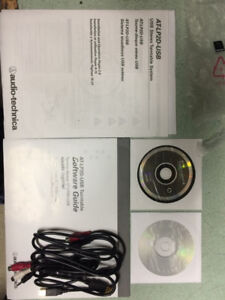 Audio Technica AT-LP2D-USB  Brand new never used