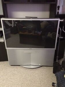 Wide Screen Projection TV