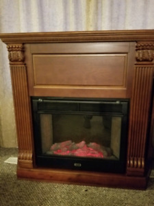 Sunbeam electric fireplace