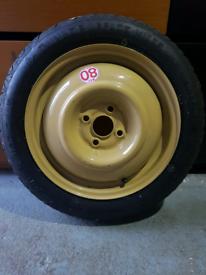 Vauxhall Corsa Space Saver Spare Wheel