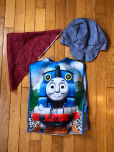 Toddler Halloween costumes- Thomas the Train and horse