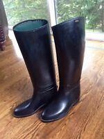 Equestrian Aigle Riding Boots - waterproof