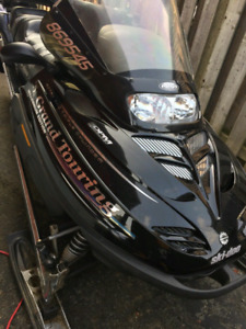 2 Grand Touring Ski-doo Snowmobiles