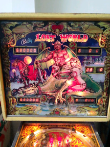 1978 Bally Lost World Pinball - Repaired & Works Great!