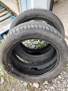 2x pneus d'été 225/50R17 94v Michelin Pilot Sport A/S 3