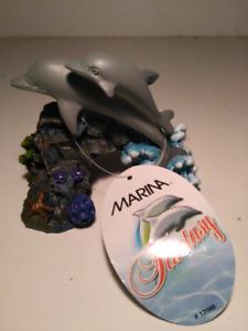 Dolphin aquarium decor