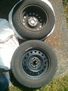 Good Year Nordic Mud & Snow Tires with Rim P195/60R14