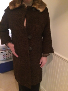 Vintage Wool and Fur Coats