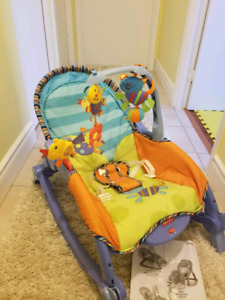 Infant/ Baby/ Toddler vibrating chair with toys