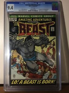 Amazing Adventures 11, CGC 9.4, First appearance of Beast