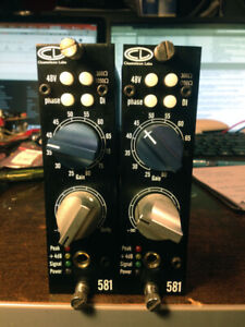 Chameleon Labs CL 581 - 500 Series Preamp Used.