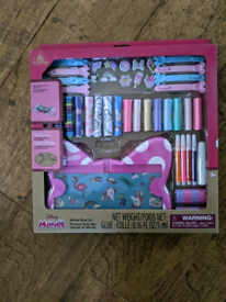 Brand new, never been open Minnie mouse bow maker kit