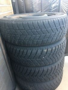 Winter tyre with rims 195/65R15