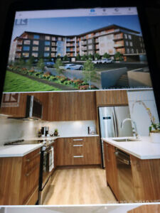 NEW, 2 Bdrm, 2 bath condo with Extra parking stall, $1950/mth
