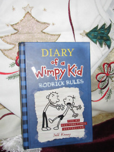 Diary of a Whimpy Kid :Roderick Rules Hardcover *NEW*UNREAD*