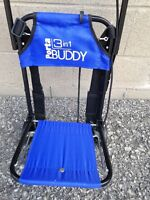 Luggage buddy, great for grocery shopping