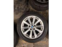 """Bmw original 17"""" alloy wheels (F10)"""