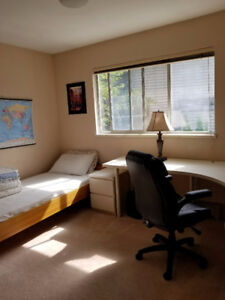 Bedroom for student, East Burnaby