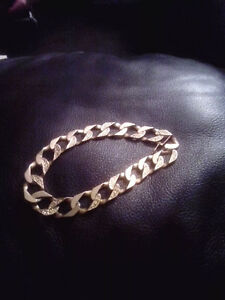 10k Thick Gold Bracelet Weighs 29.1 Grams