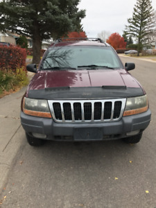 2001 Jeep Grand Cherokee (with new tires)