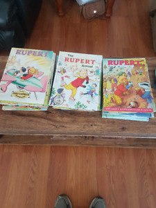 Collectable Rupert Books from England