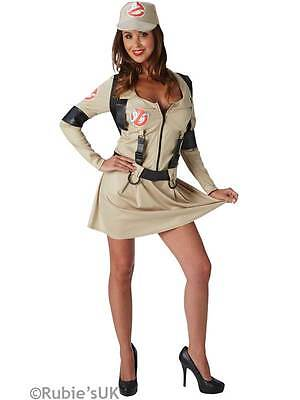 Ghostbusters Ladies Fancy Dress Halloween 1980s Womens Adult 80s Costume Outfit ()