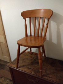 Farmhouse dining chair.