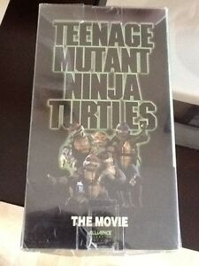 TMNT turtles VHS retro vintage
