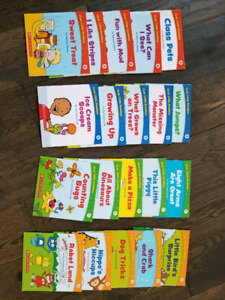 Complete set of learn to read books