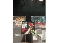 Rock CD bundle - Paramore / You Me At Six / Green Day / Nirvana