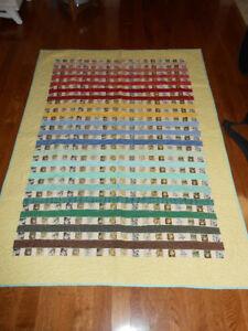 Handmade Quilt Striped