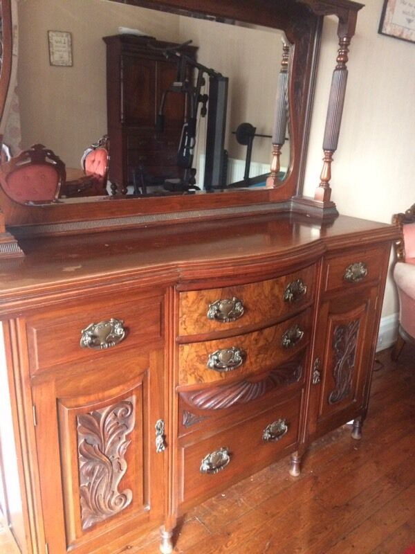 Large Antique Dresser