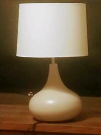 Pair John Lewis Ceramic Touch Lamps