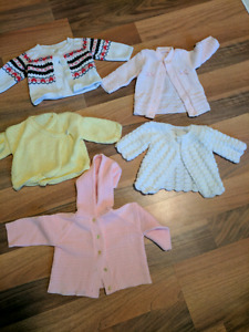 Baby girl knit sweaters