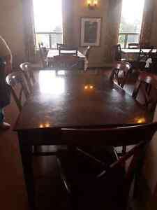 Selling our tables and chairs