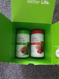 Juice plus fruit and vegetable capsules